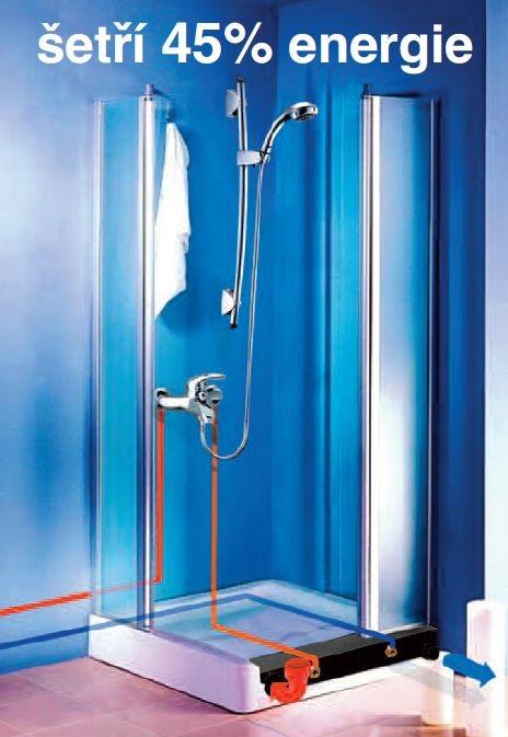 Sprchový výměník NELA - ÚSPORNÉ SPRCHOVÁNÍ