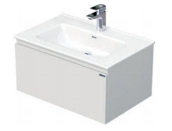 Skříňka s umyvadlem a s 1 zásuvkou, 71x46x36,5 cm