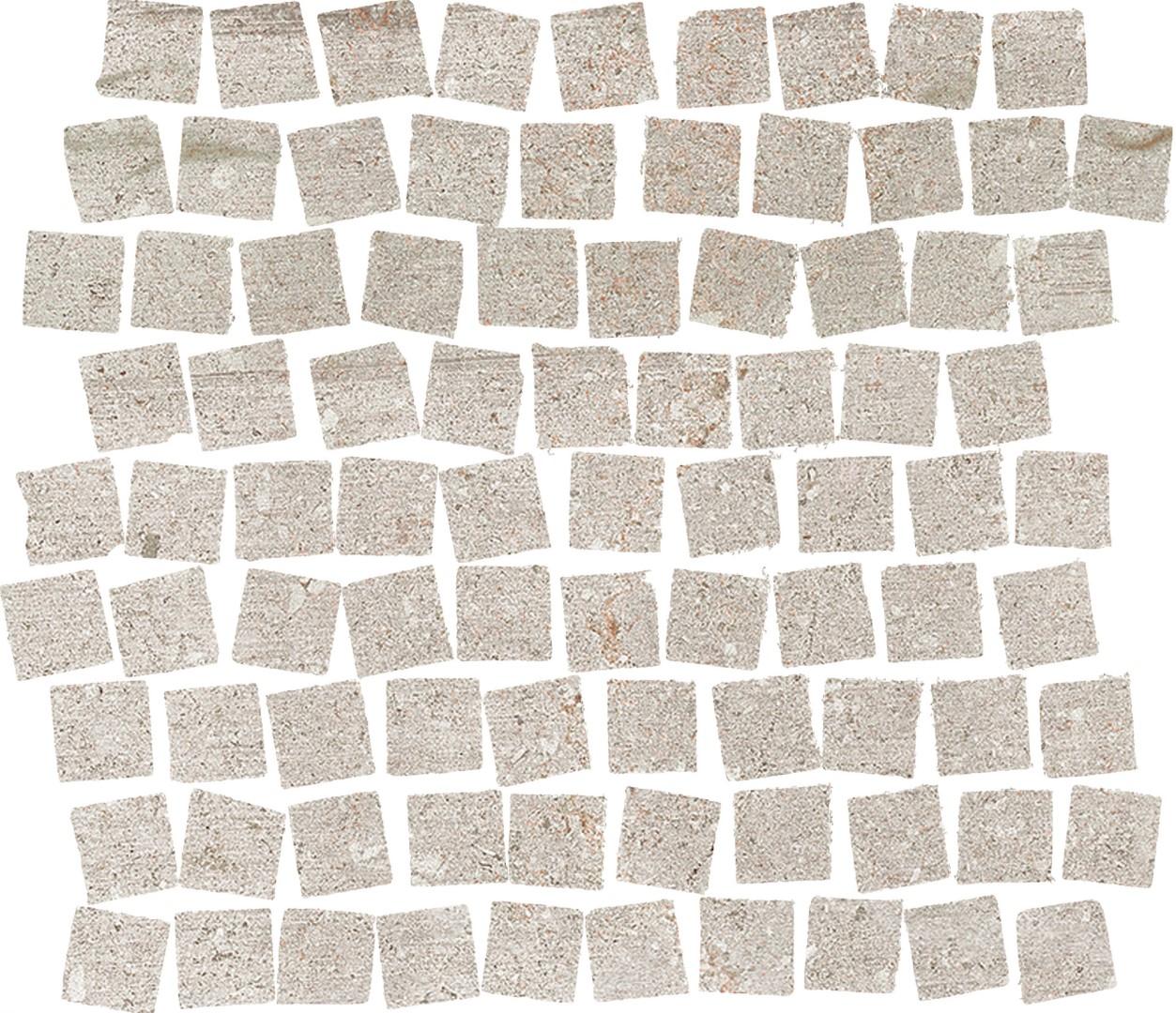 Obklad Mosaico Grey 32,5x32,5 cm, mat