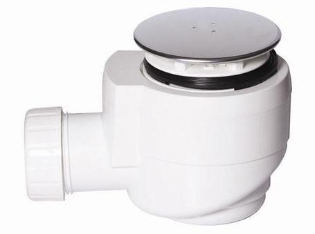 Sifon ke sprchové vaniččce, horní čistění, ABS/chrom, průměr 50mm, série DN40-50