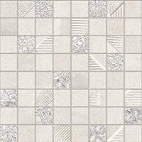 Obklad Mosaico White 30x30 cm, mat