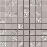 Obklad Mosaico Grey 30x30 cm, mat