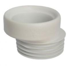 Manžeta k WC vnější gumová - excentr, série Odpad WC