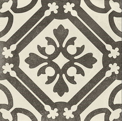 Decoro P. Ducale B&W Sogg. B, 20x20cm, mat