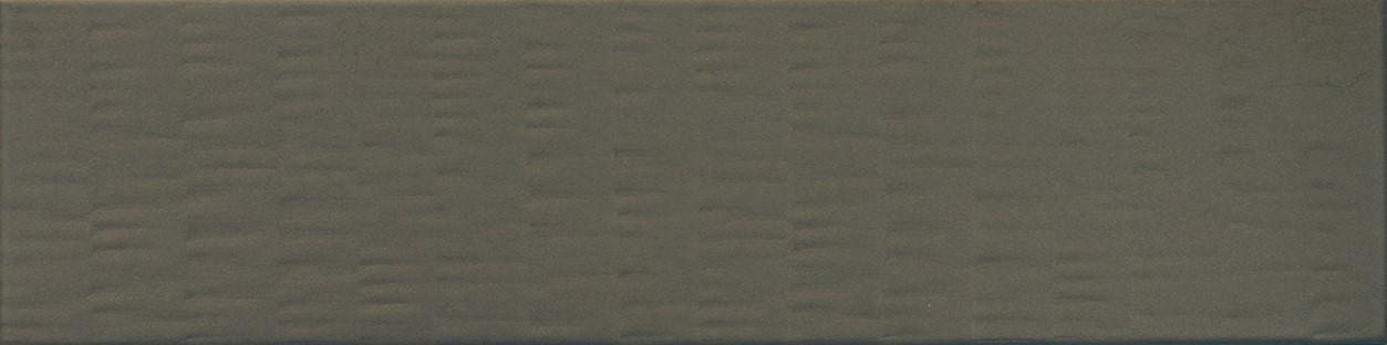 Obklad/dlažba Terre Brown 9,2x36,8 cm, mat