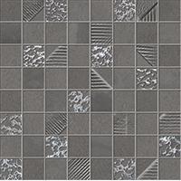 Obklad Mosaico Carbon 30x30 cm, mat