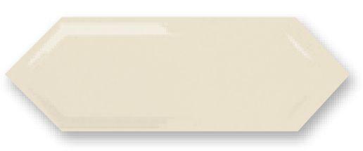 Obklad Cupidón Marfil Brillo Bisel, 10x30 cm, lesk s fazetou