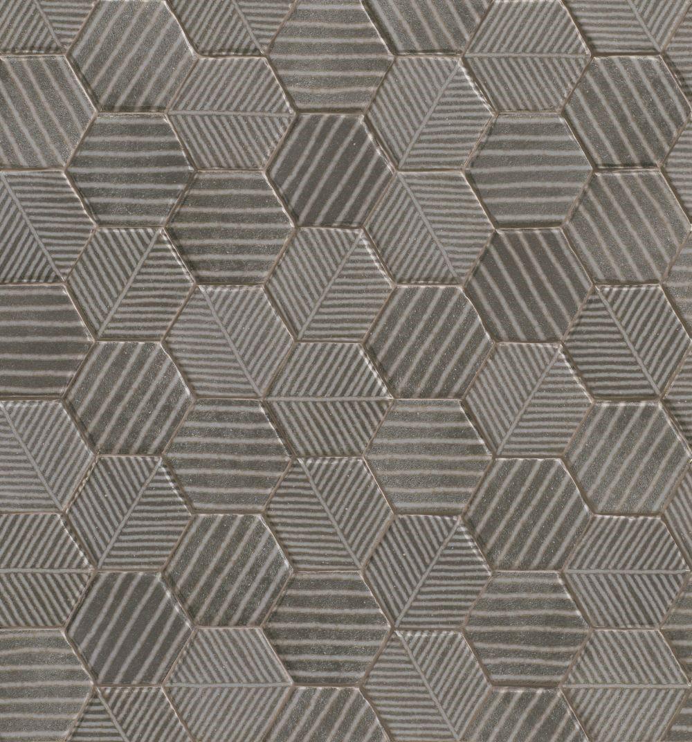 Dlažba Fibber Basalt 18x20,5 cm, mat