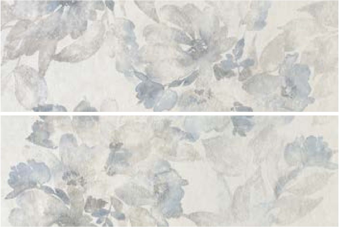 Dekor Grey Fiaba Prowall 25x75 cm, matný