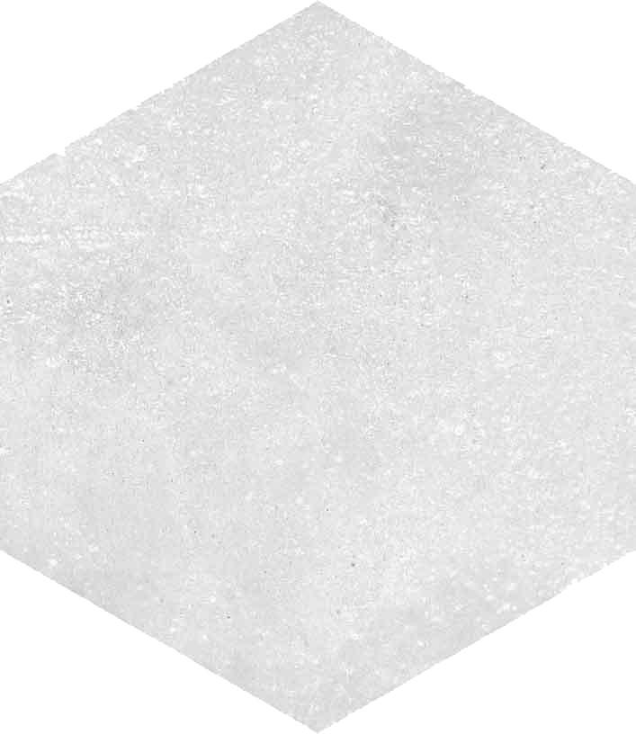 Dlažba Hexagono Blanco, 23x26,6cm, série Rift