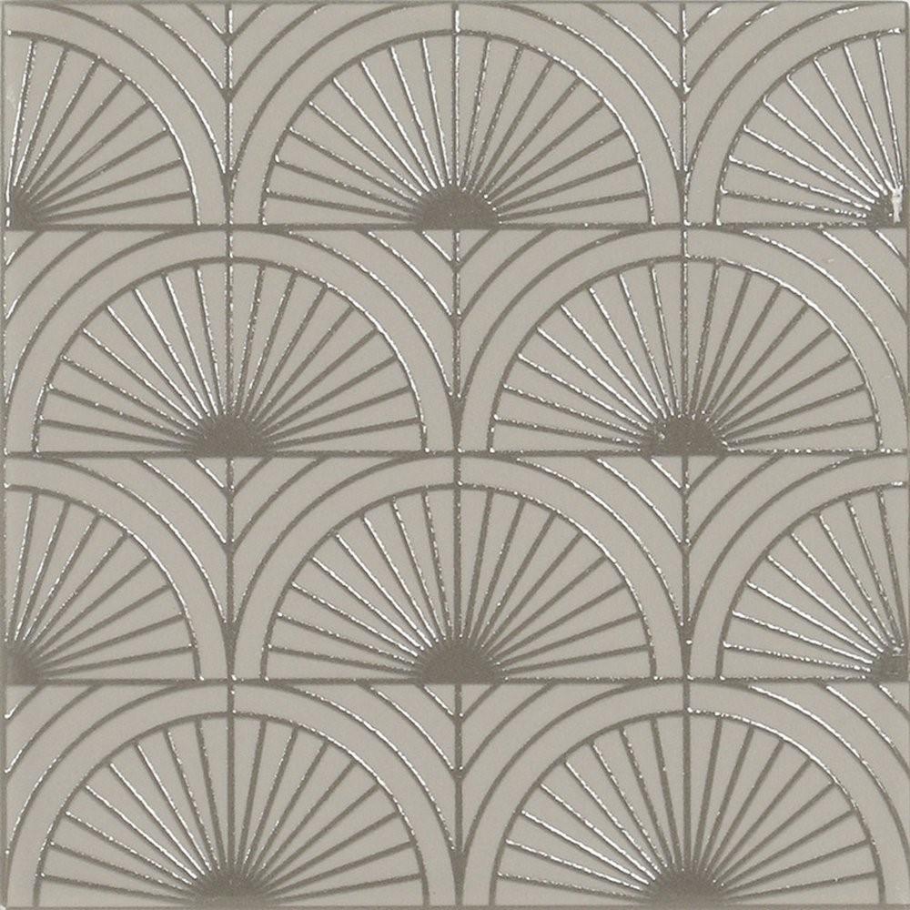 Obklad Grey Velvet Glam 14,8x14,8 cm, mat