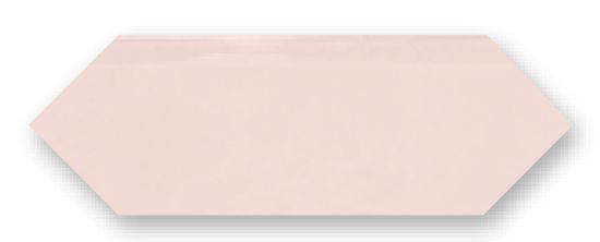Obklad Cupidón Rosa Brillo Liso, 10x30 cm, lesk
