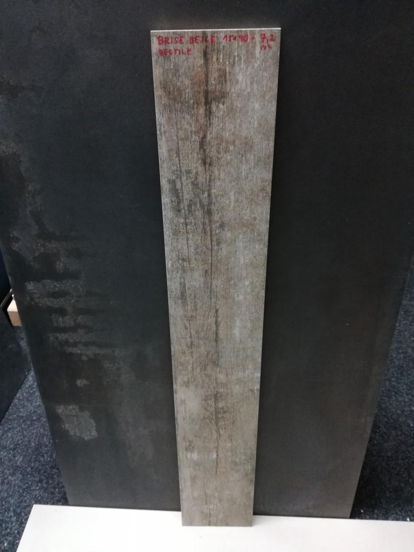 Dlažba Brise Beige Bestile 15x90 cm v imitaci dřeva