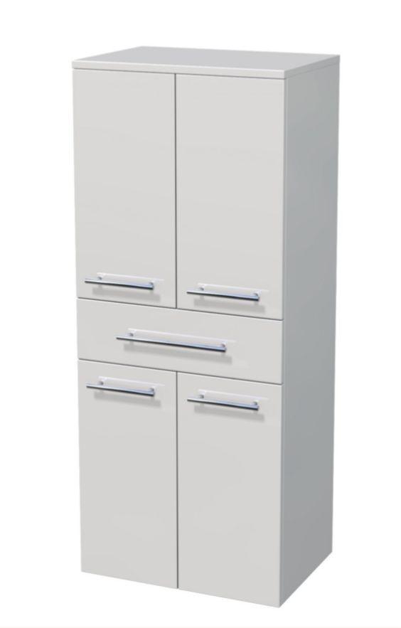 Střední skříňka 4 dveře, 1 zásuvka 50x35x121,8 cm