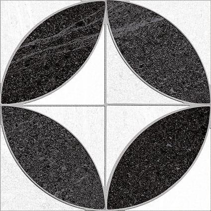 Obklad/dlažba Bezons-R Grafito 15x15 cm, matt