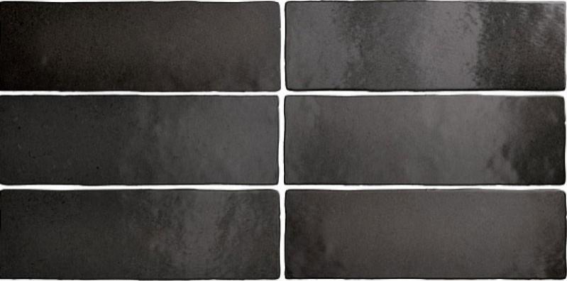 Obklad Black Coal 6,5x20 cm, mat