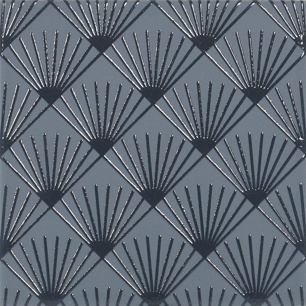 Obklad French Navy Jazz 14,8x14,8 cm, mat