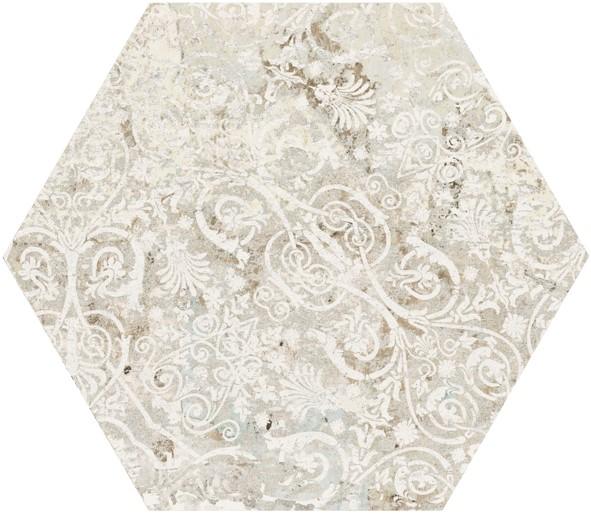 Obklad/dlažba Sand Hexagon 25x29 cm, série Carpet
