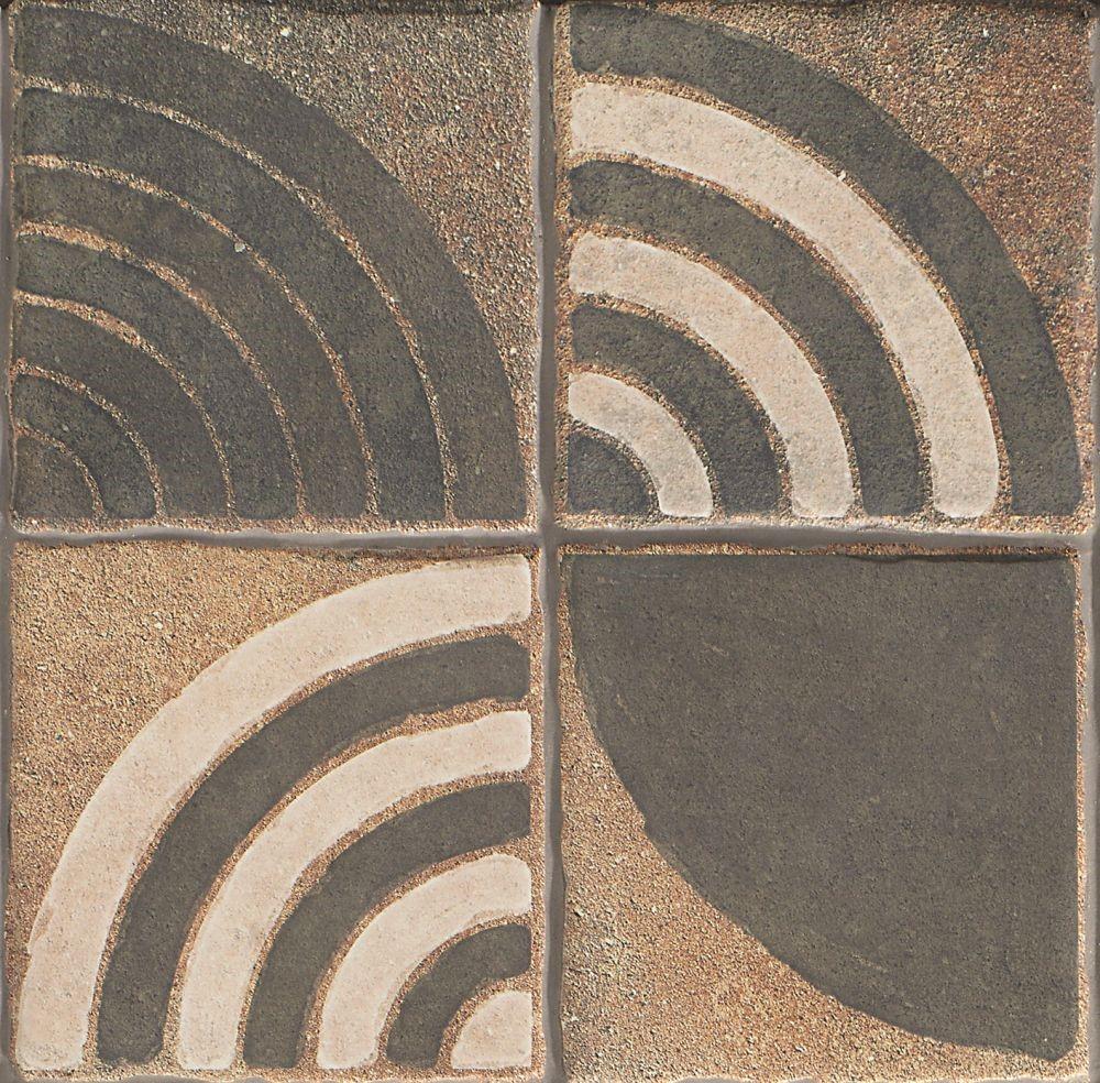 Dlažba Astro Dark 22,5x22,5 cm, mat