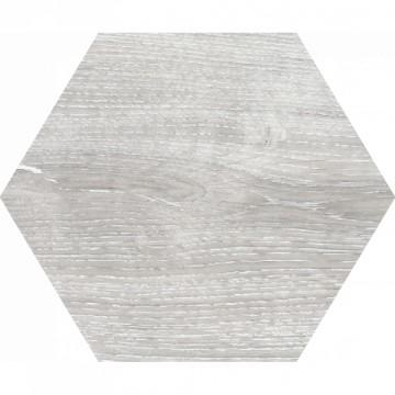 Dlažba Yosemite Hexagon Gris 20x24 cm, mat