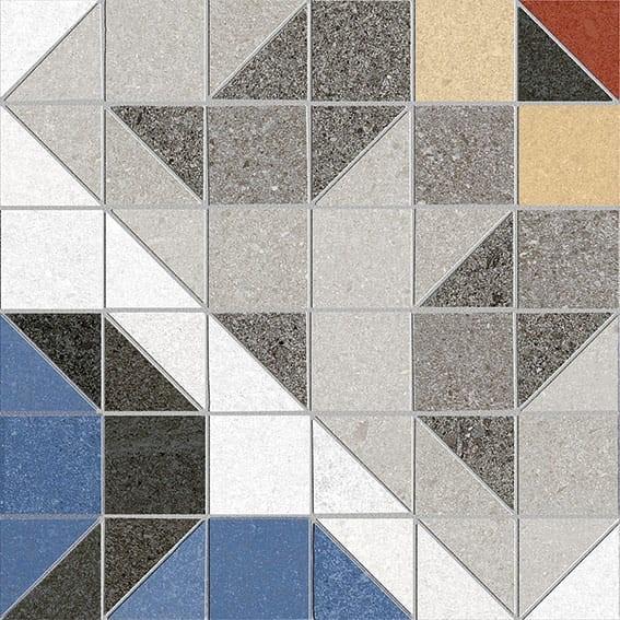 Obklad/dlažba Surenses-R Cemento 20x20 cm, matt