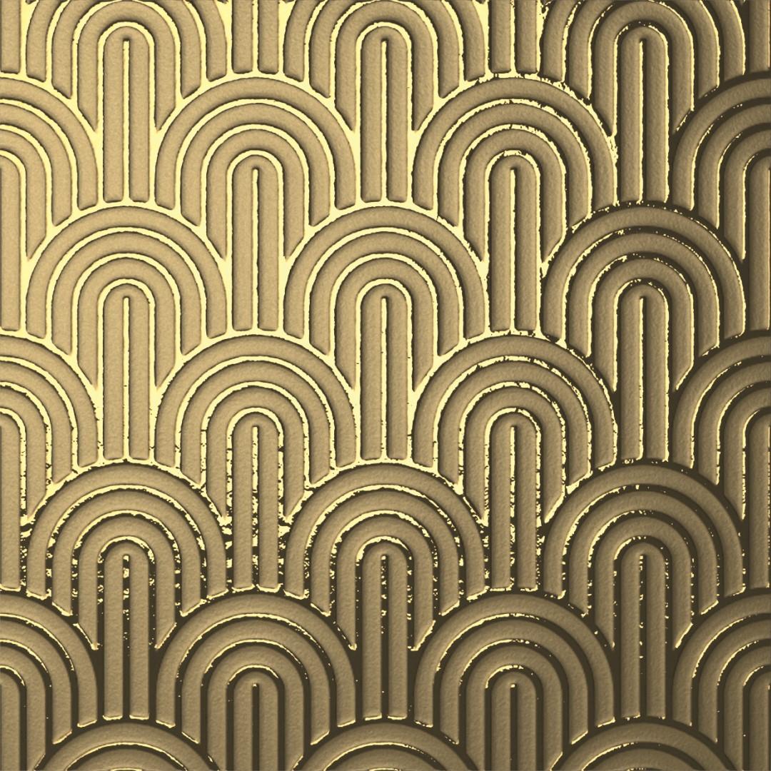 Obklad Gold Elegance 14,8x14,8 cm