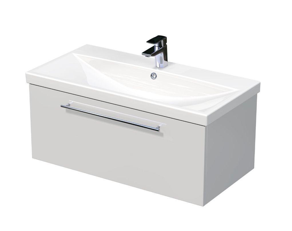 Skříňka s umyvadlem ELITE a s 1 zásuvkou 90x45x41 cm
