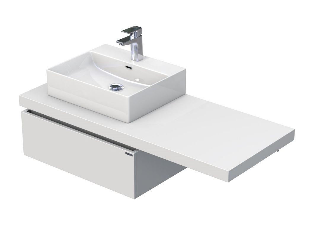 Skříňka s umyvadlem na desku 120,5x50,2x44,4 cm