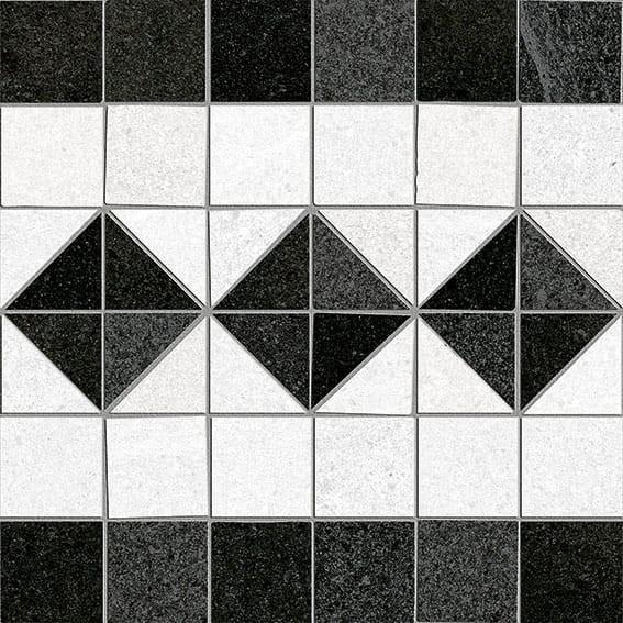 Obklad/dlažba Iéna-R Grafito 20x20 cm, matt