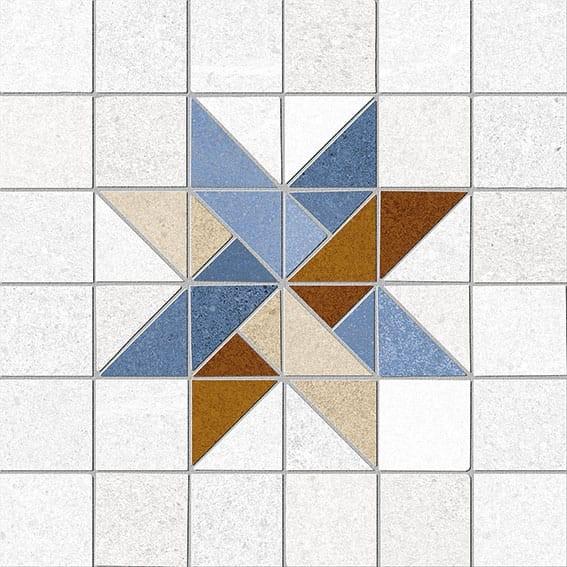 Obklad/dlažba Arcole-R Azul 20x20 cm, matt