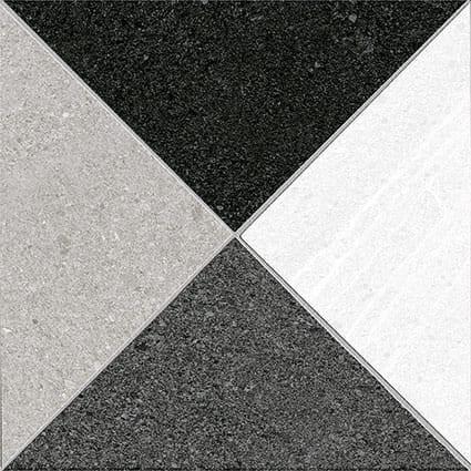 Obklad/dlažba Corneile-R Grafito 15x15 cm, matt