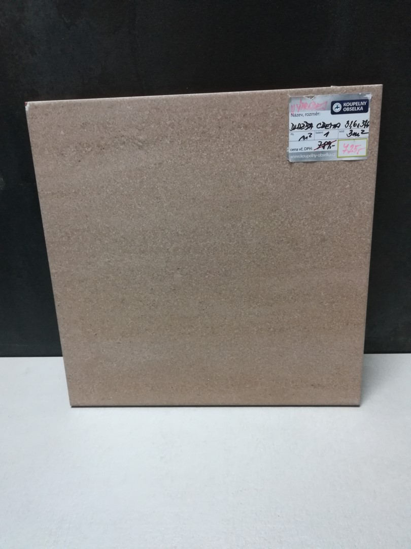 Dlažba Crema 31,6x31,6 cm, mat