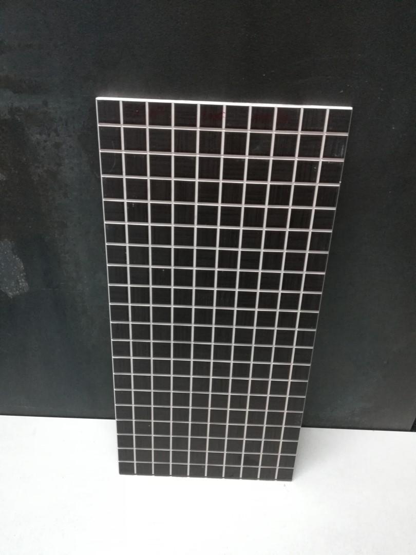 Mosaico Satin Marron 22,5x45x0,9cm
