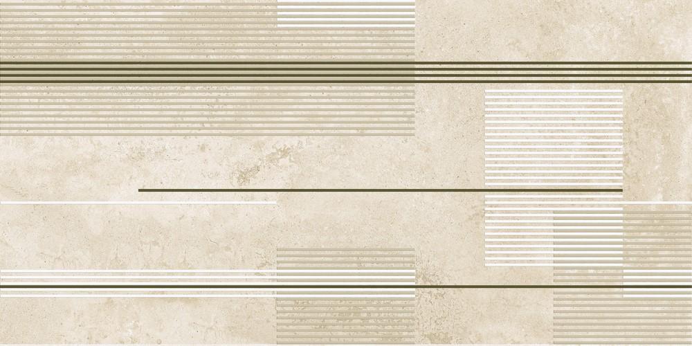 Dekor Urban Stripes Concrete 50x100, rektifikovaný