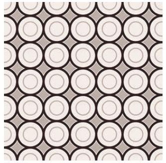 Obklad/dlažba Black-White 5 20x20cm, matná, rektifikovaná