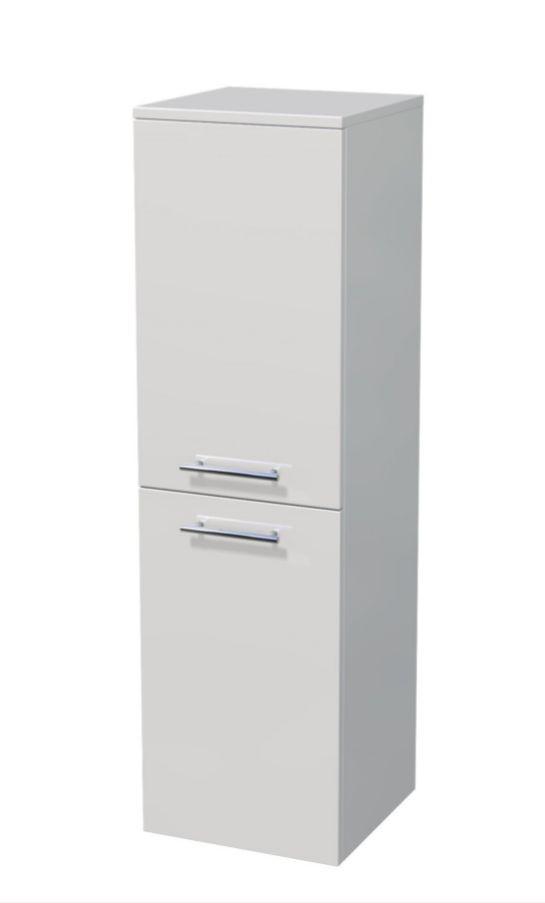 Střední skříňka 2 dveře, koš 35x35x121,8 cm