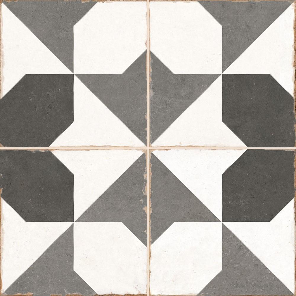 Dlažba Old School Archie 45x45 cm, mat
