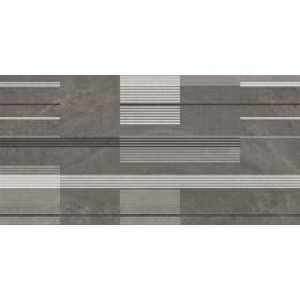 Dekor Urban Stripes Silicon 50x100, rektifikovaný
