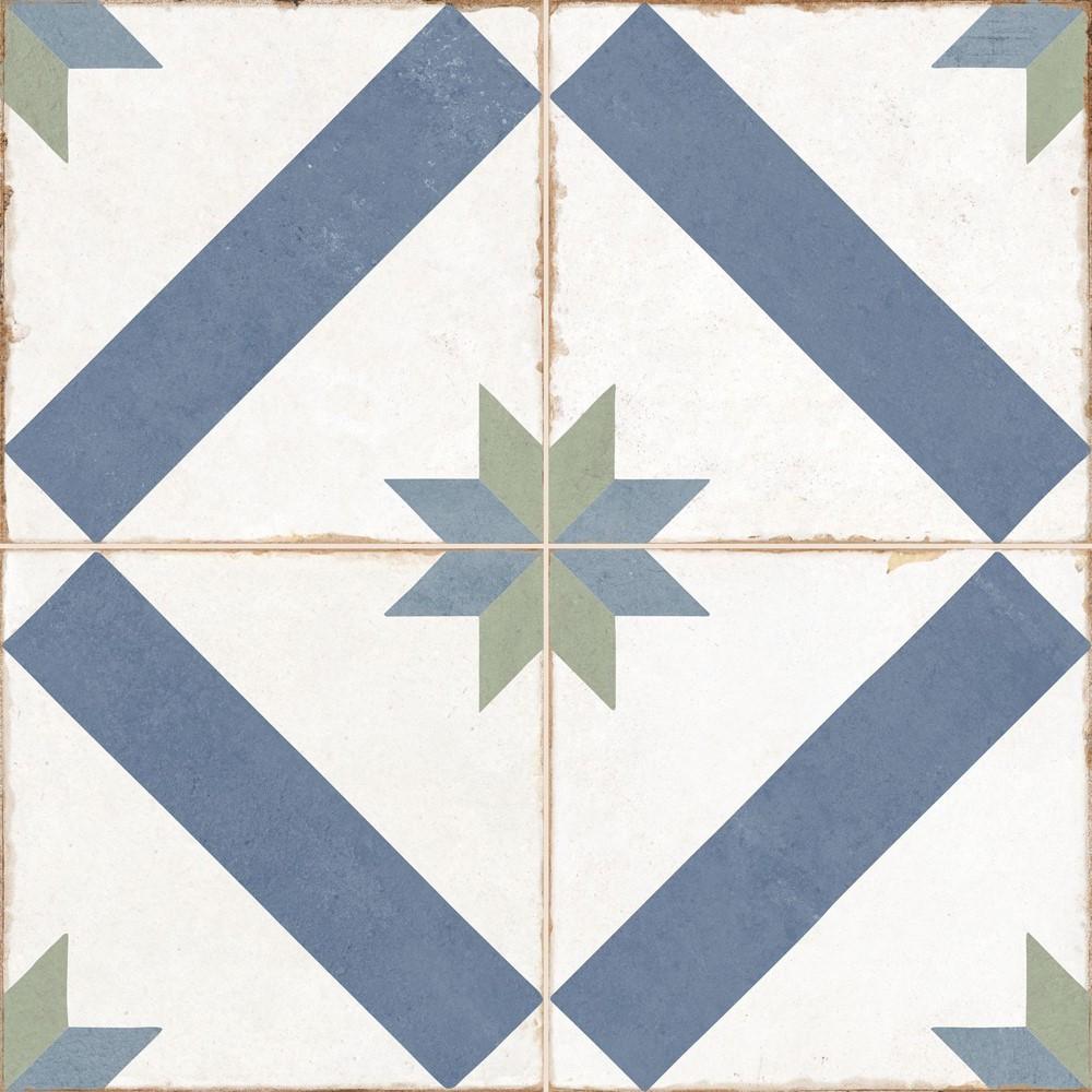 Dlažba Old School Marau 45x45 cm, mat