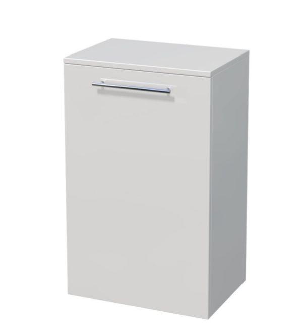 Nízká skříňka 1 dveře, koš 35x35x81,8 cm