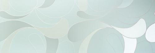 Dekor Lacrima Turchese 35x100x1,05cm, lesklý, rektifikovaný, série Acqua