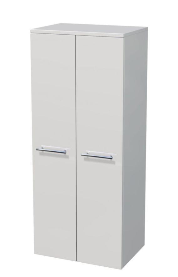 Střední skříňka 2 dveře, koš 50x35x121,8 cm