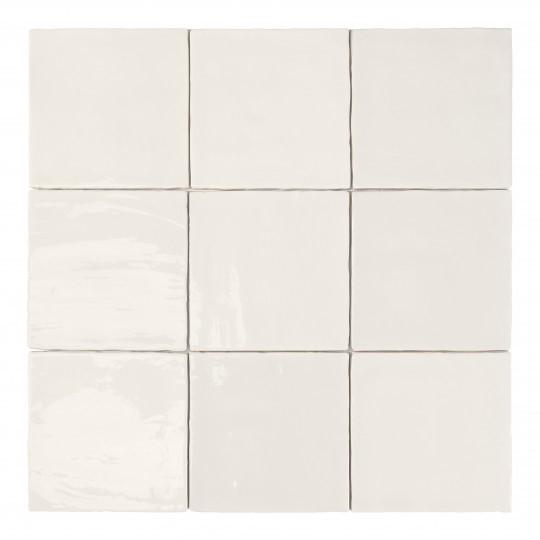 Obklad Tabarca Blanco 15x15 cm, lesk