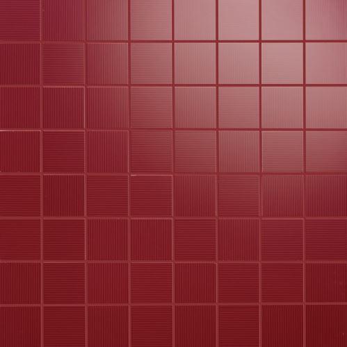 Mosaic Oceano Rubi, 35x35x1,05cm (1,9x1,9cm) lesk, série Acqua