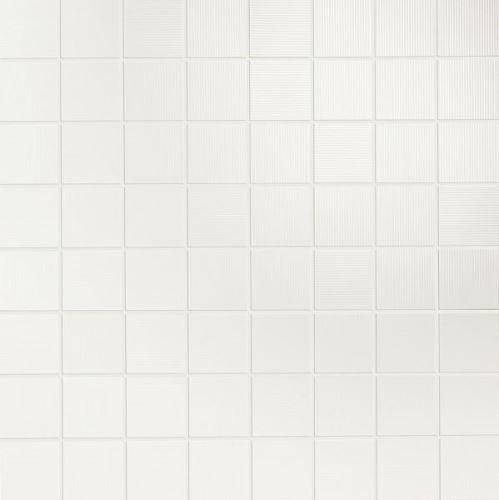 Mosaic Oceano Bianco, 35x35x1,05cm (1,9x1,9cm) lesk, série Acqua