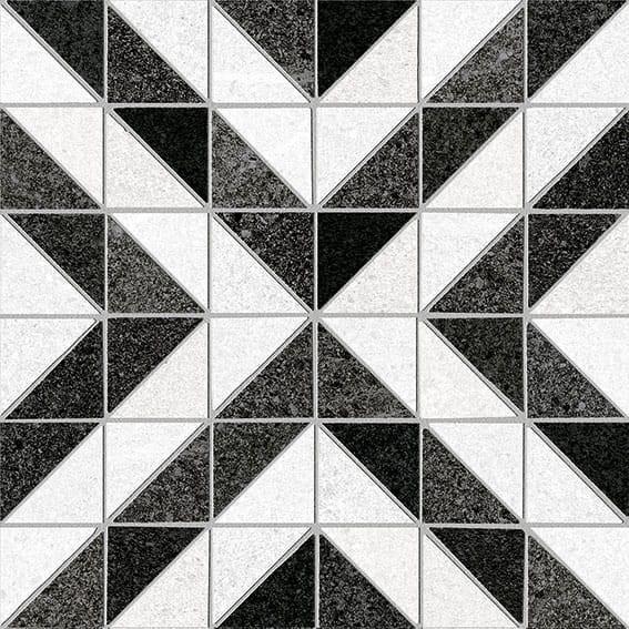 Obklad/dlažba Sérves-R Grafito 20x20 cm, matt