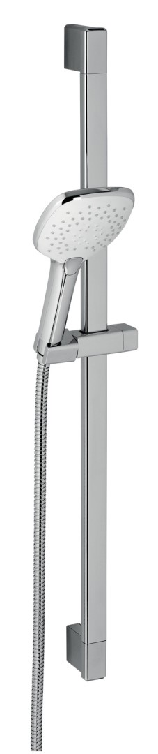 Sprchová souprava s 3 - polohovou ruční sprchou, chrom