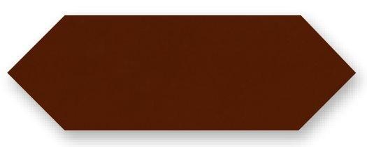 Obklad Cupidón Marron Brillo Liso, 10x30 cm, lesk