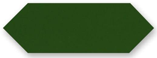 Obklad Cupidón Dark Green Brillo Liso, 10x30 cm, lesk