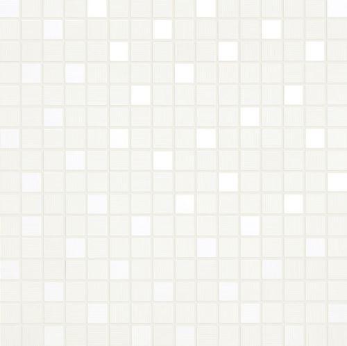 Mosaic Bianco, 35x35x1,05cm (1,9x1,9cm) lesk, série Acqua